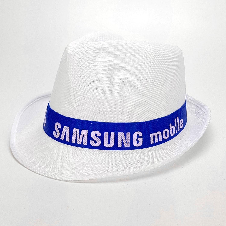 Samsung mob!le Hut Fedora Panama Hut - weiß