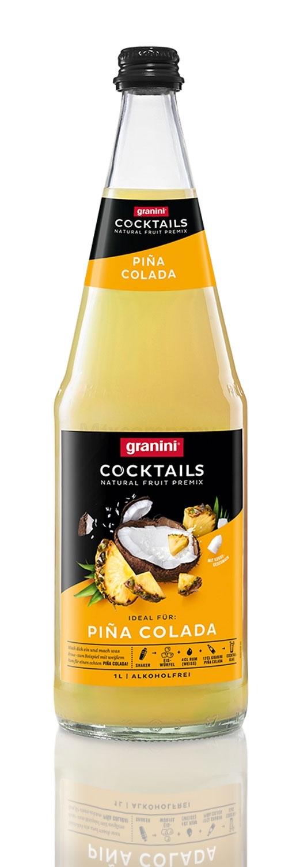 Granini Pina Colada Cocktail 1l - Alkoholfreier Saft inkl. Pfand MEHRWEG