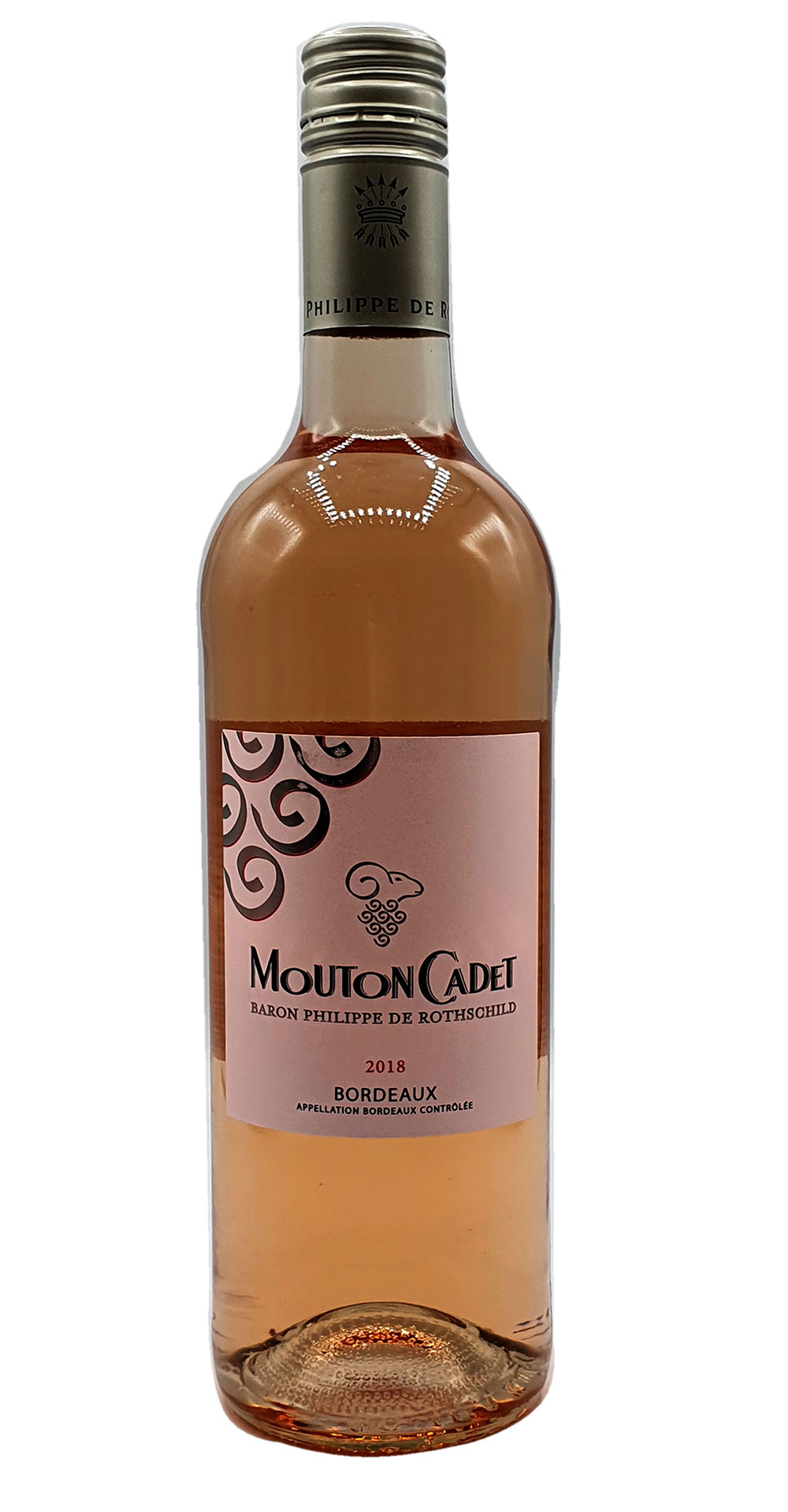Rose Wein - Mouton Cadet Bordeaux / Baron Philippe De Rothschild 750ml (12% Vol)- [Enthält Sulfite]