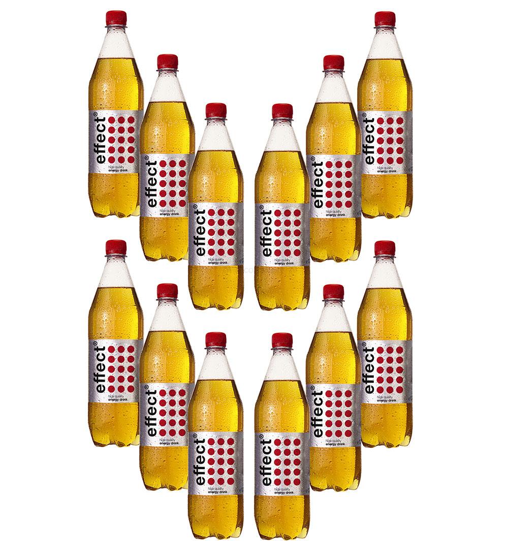 Effect 12er Set Energy Drink 1L 1000ml in PET Flasche inklusive Pfand EINWEG