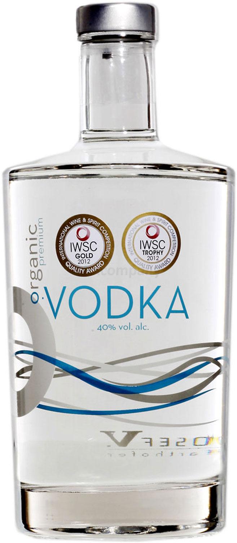 Farthofer Organic Premium Vodka Mini 50ml (40% Vol) -[Enthält Sulfite]