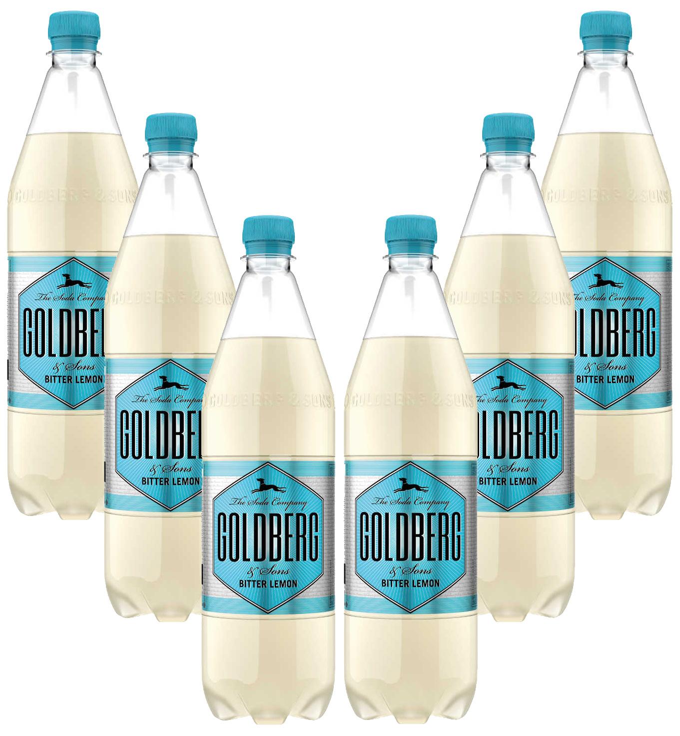 Goldberg Bitter Lemon- 6x1L = 6L - Inkl. Pfand MEHRWEG