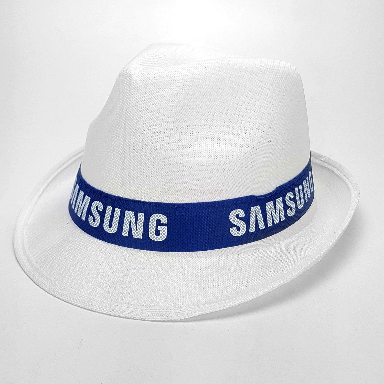 Samsung Hut Fedora Panama Hut - weiß