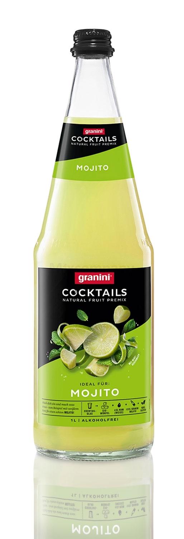 Granini Mojito Cocktail 1l - Alkoholfreier Saft inkl. Pfand MEHRWEG
