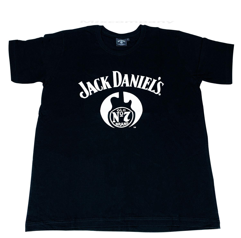 Jack Daniels T-Shirt Herren Grösse L Baumwolle
