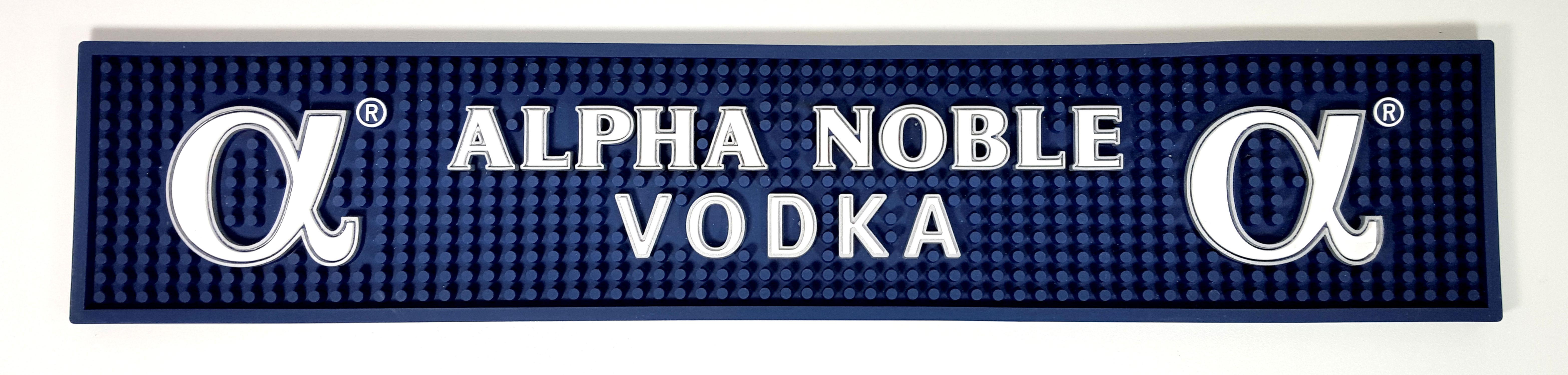 Alpha Noble Vodka Barmatte 49,8 x 9,8 cm