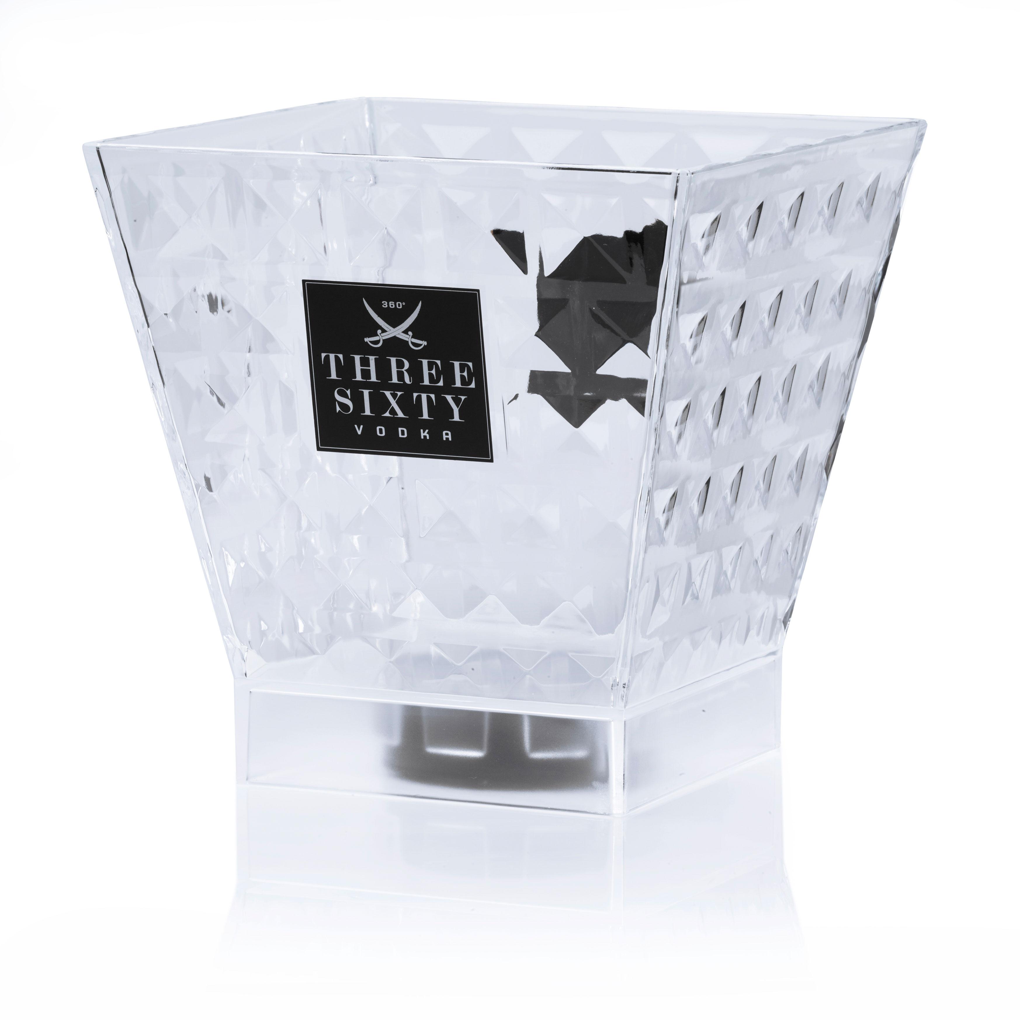 Three Sixty Diamond Kühler - Flaschenkühler / Eiskühler / Getränkekühler in Diamantenform