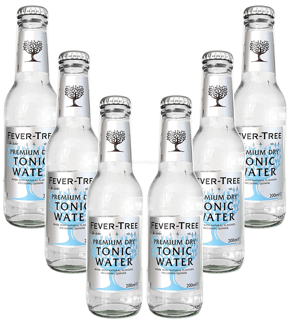 Fever-Tree Premium Dry Tonic Water 6x 0,2l MEHRWEG inkl. Pfand