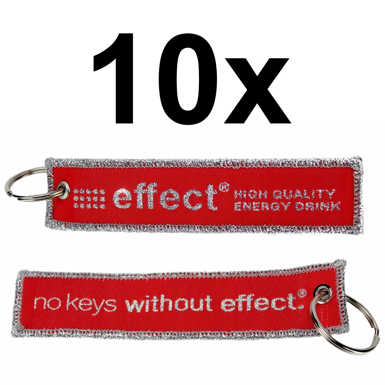 Effect Energy Drink Schlüsselanhänger 10er Set