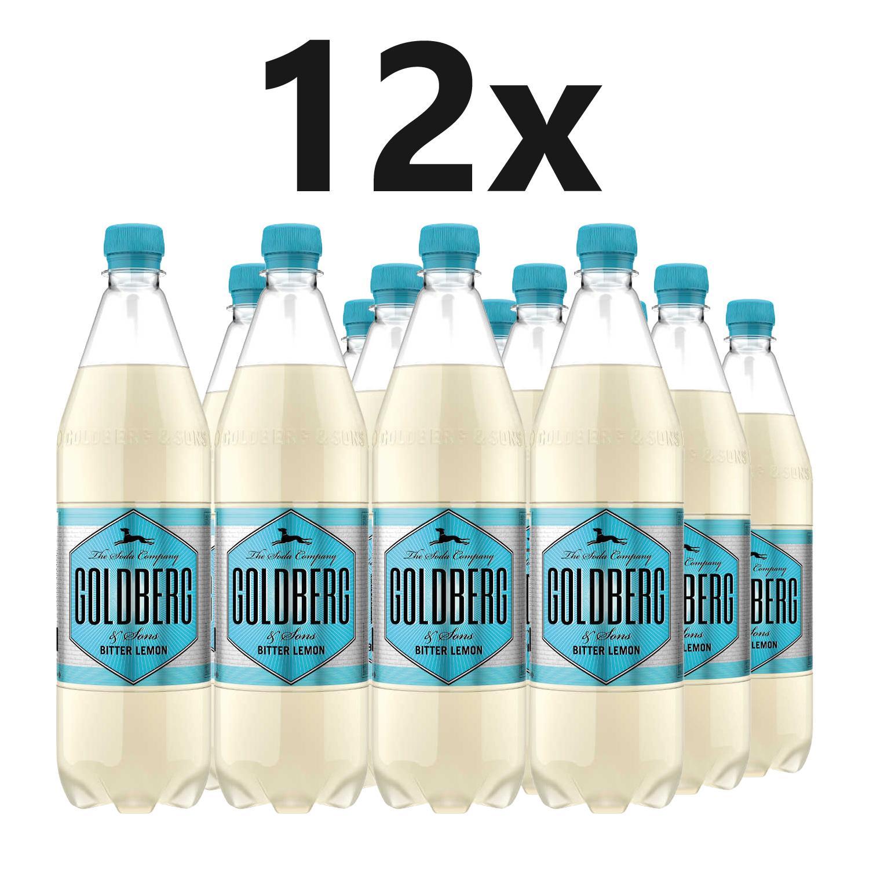 Goldberg Bitter Lemon - 12x1L = 12L - Inkl. Pfand MEHRWEG