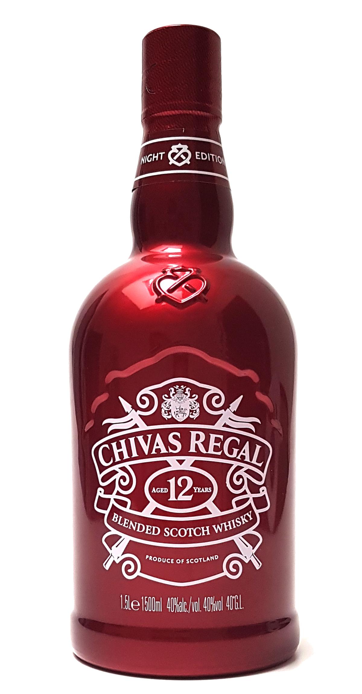 Chivas Regal 12 Jahre Blended Scotch Whisky - Night Edition 1,5L (40% Vol)