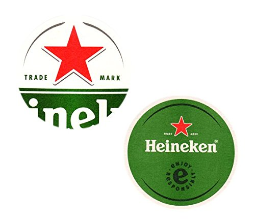 100 Heineken Bierdeckel