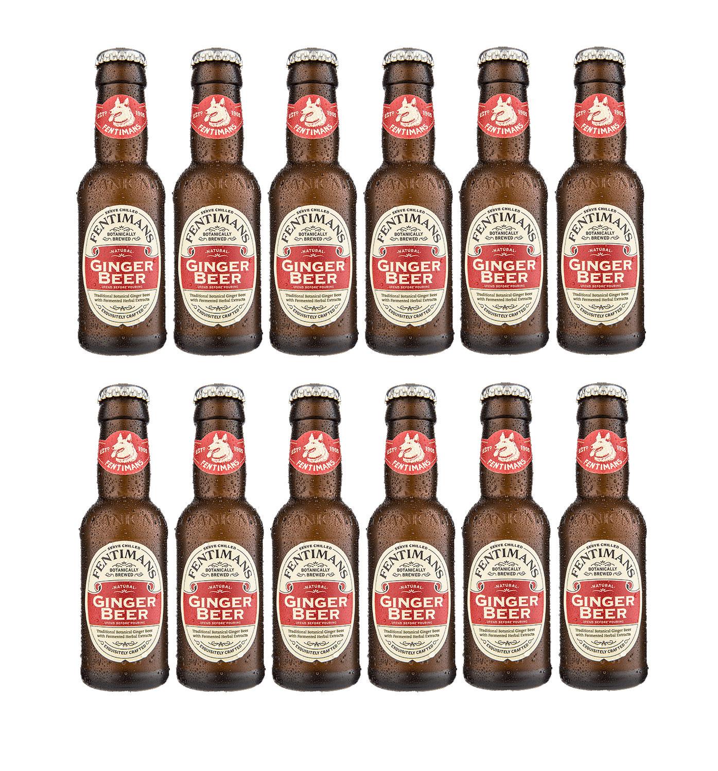 Fentimans Ginger Beer 12er Set 200ml inkl. Pfand MEHRWEG