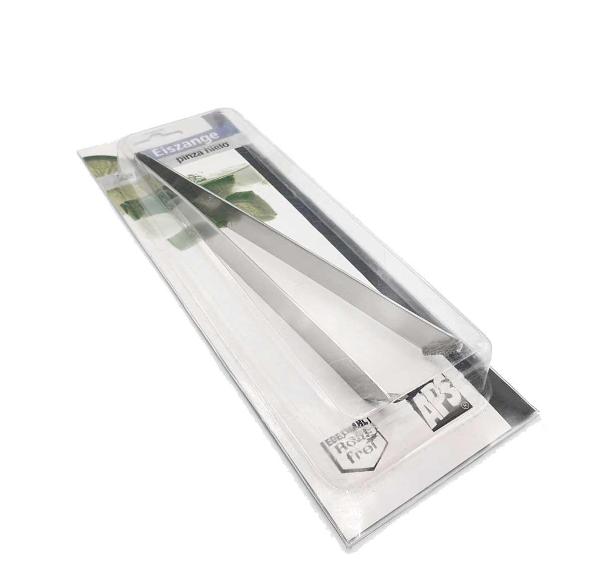 APS Eiszange / ice tong aus Edelstahl Barzange ca 20 cm