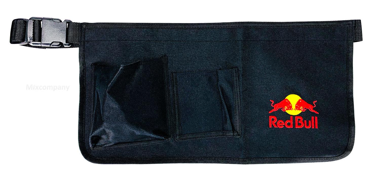 Red Bull Schürze 25x49cm Polyester Bistroschürze Schürze mit Schnellverschluss