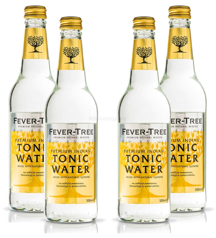 Fever-Tree Premium Indian Tonic Water 4x 500ml = 2000ml - Inkl. Pfand MEHRWEG