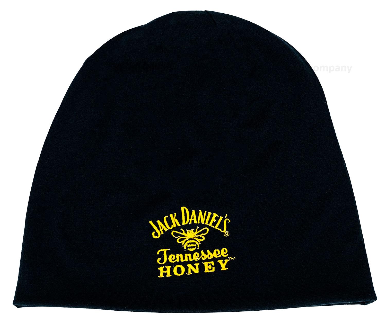 Jack Daniels Honey Beanie Mütze Polyesther/Elasthan Unisex schwarz