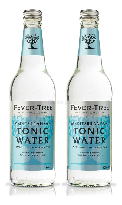 Fever-Tree Mediterranean Tonic Water 2x 500ml = 1000ml - Inkl. Pfand MEHRWEG