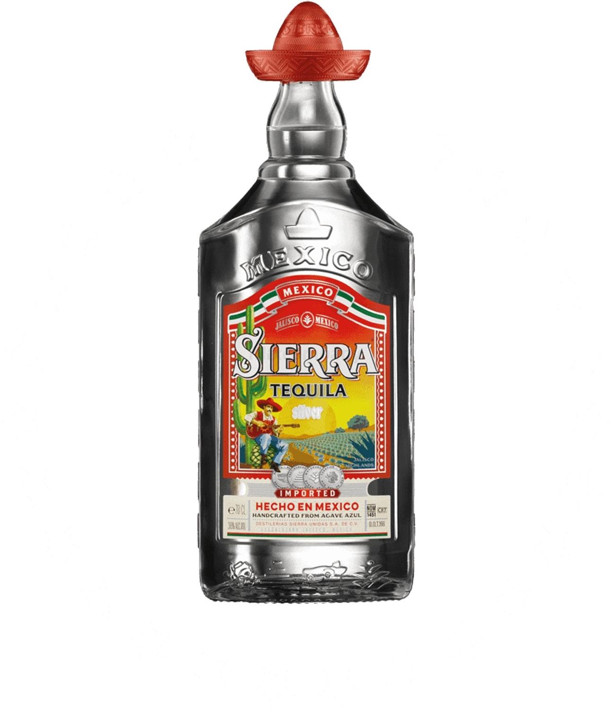 Sierra Tequila Silver 0,7l 700ml (38% Vol) -[Enthält Sulfite]