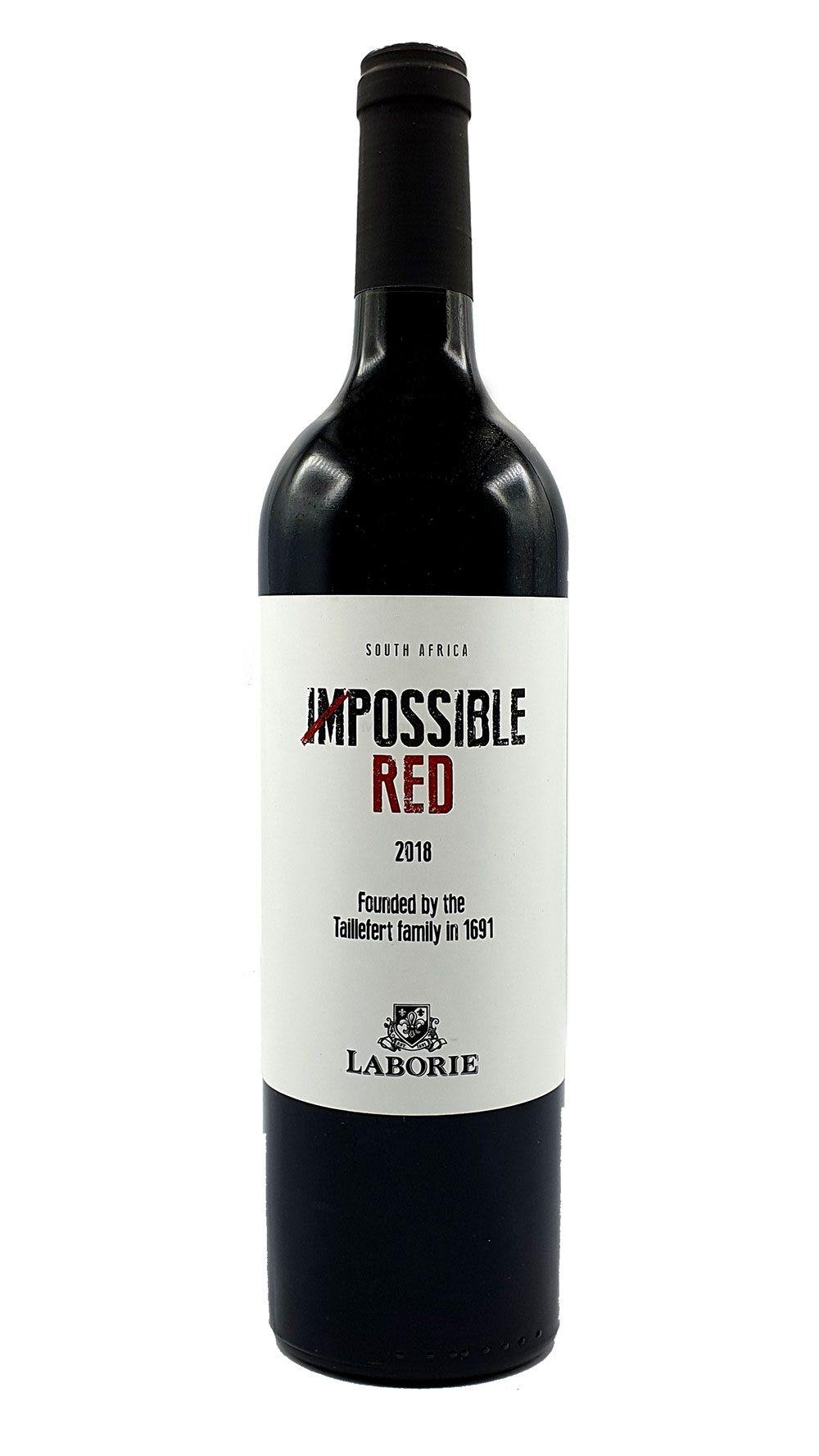 Laborie Rotwein Impossible Red South Africa 0,75L (14% Vol)-Jahrgang variierend
