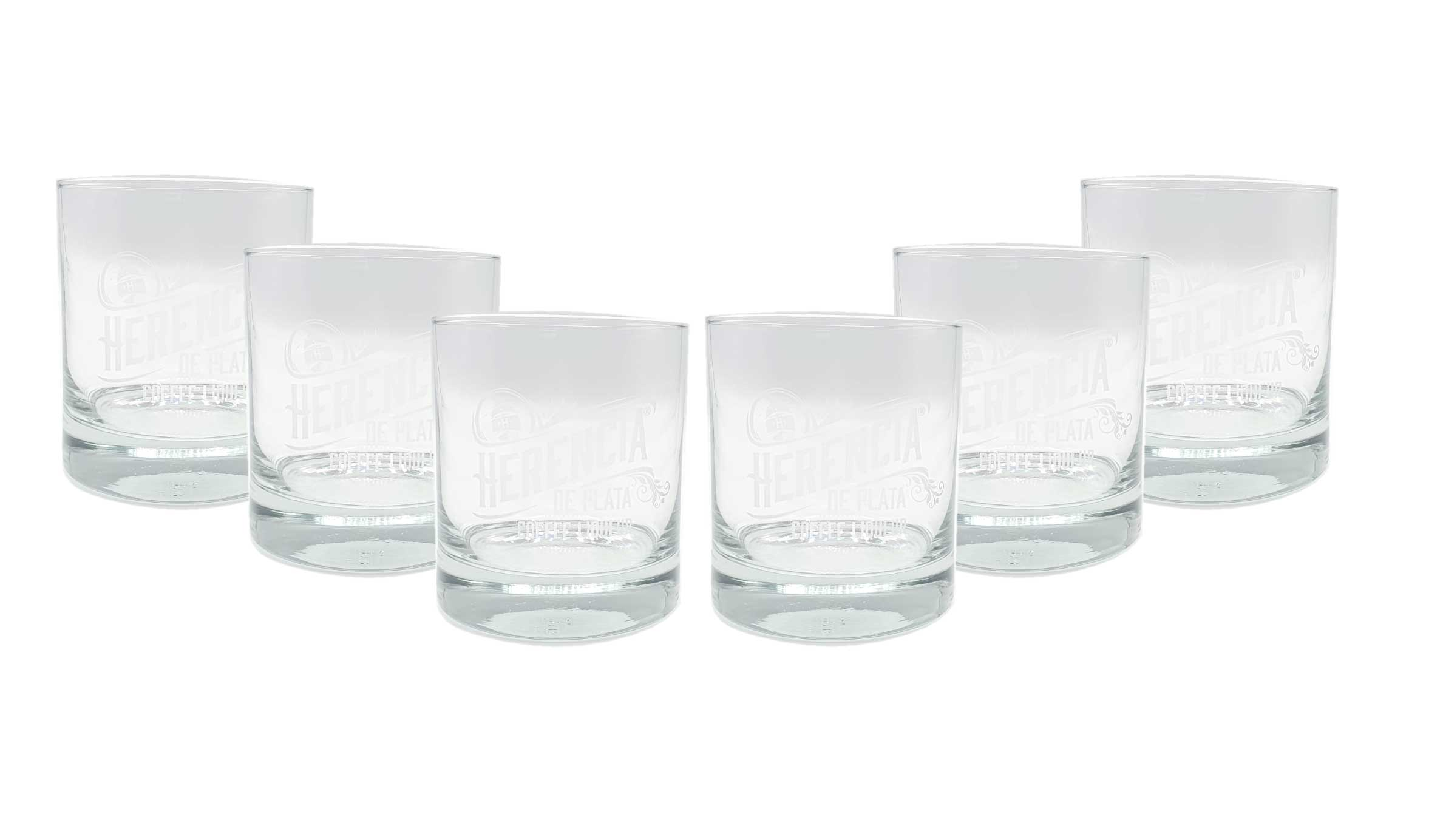 Herencia De Plata Coffee Liqueur Gläser 6er Set Tumbler