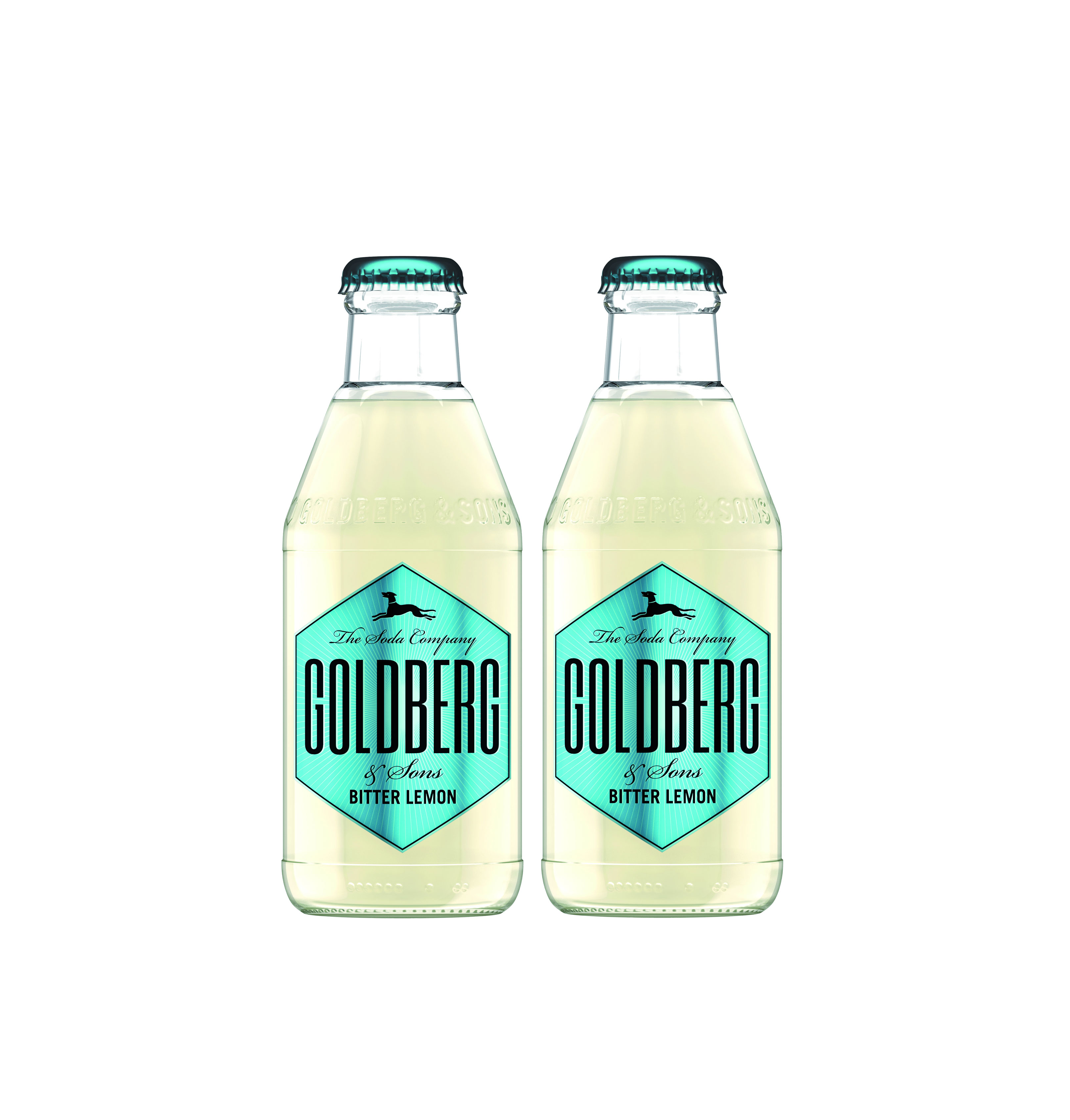 Goldberg Bitter Lemon 2er Set - 2x200ml Inkl. Pfand MEHRWEG