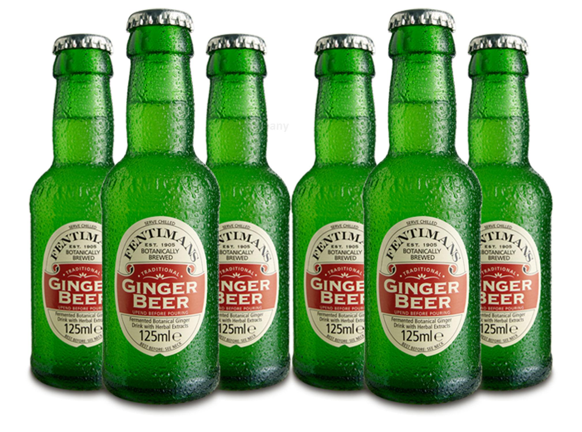 Fentimans Set - 6x Ginger Beer 200ml (Inkl. Pfand) = 1200ml - Inkl. Pfand MEHRWEG