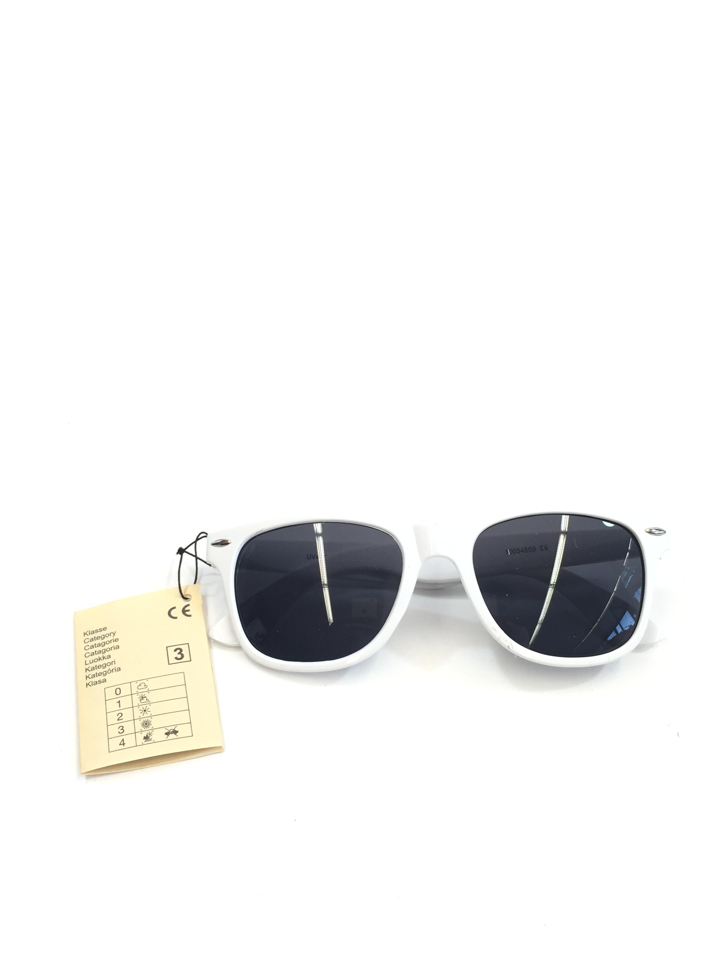 Sion Kölsch Sonnenbrille Nerd style weiß - UV400 Klasse 3
