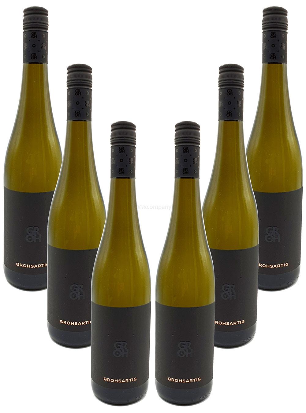 Groh - 6er Set Grohsartig Weissburgunder Chardonnay Trocken - Deutscher Qualitätswein 0,75L (12,5% Vol) -[Enthält Sulfite]