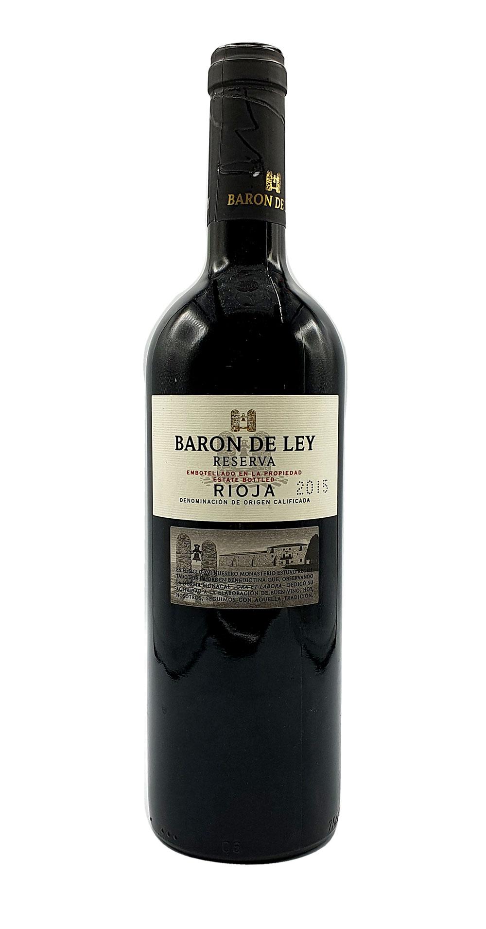 Baron de Ley Rotwein 0,75L (14% Vol) - Reserva Rioja - Spanien- [Enthält Sulfite]