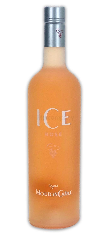Rothschild Mouton Cadet ICE Rose Wein aus Bordeux Frankreich 0,75l (12% Vol) -[Enthält Sulfite]
