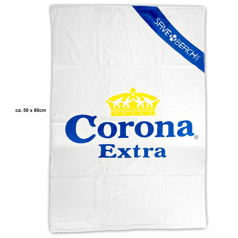 Corona Extra Decke Stranddecke ca. 50 x 80cm