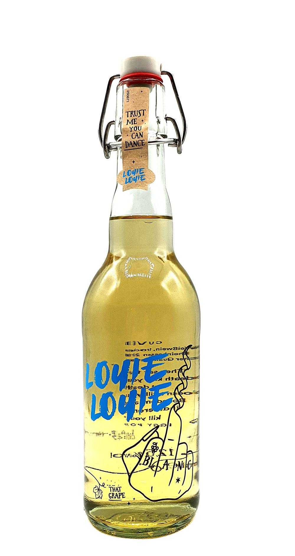 Louie Louie Cuvee Weißwein - Trust me you can dance - 0,5l (12,5% Vol) [Enthält Sulfite]
