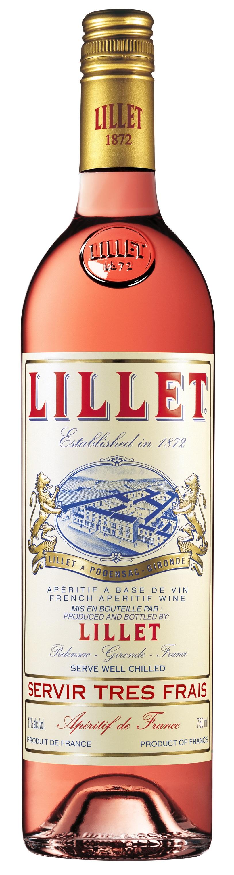 Lillet Rose französischer Aperitif 0,75l (17% Vol) -[Enthält Sulfite]