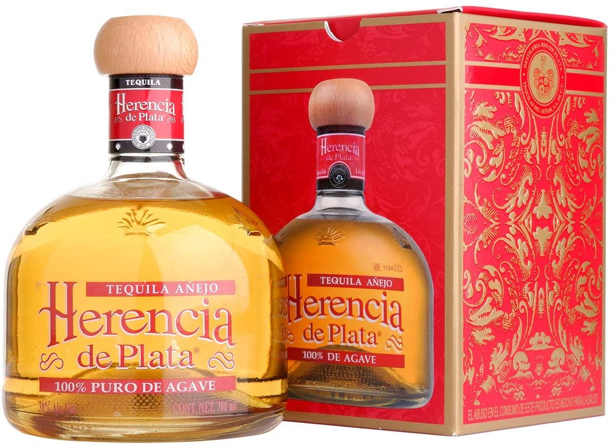 Herencia de Plata Añejo Tequila 0,7L (38% Vol)- [Enthält Sulfite]