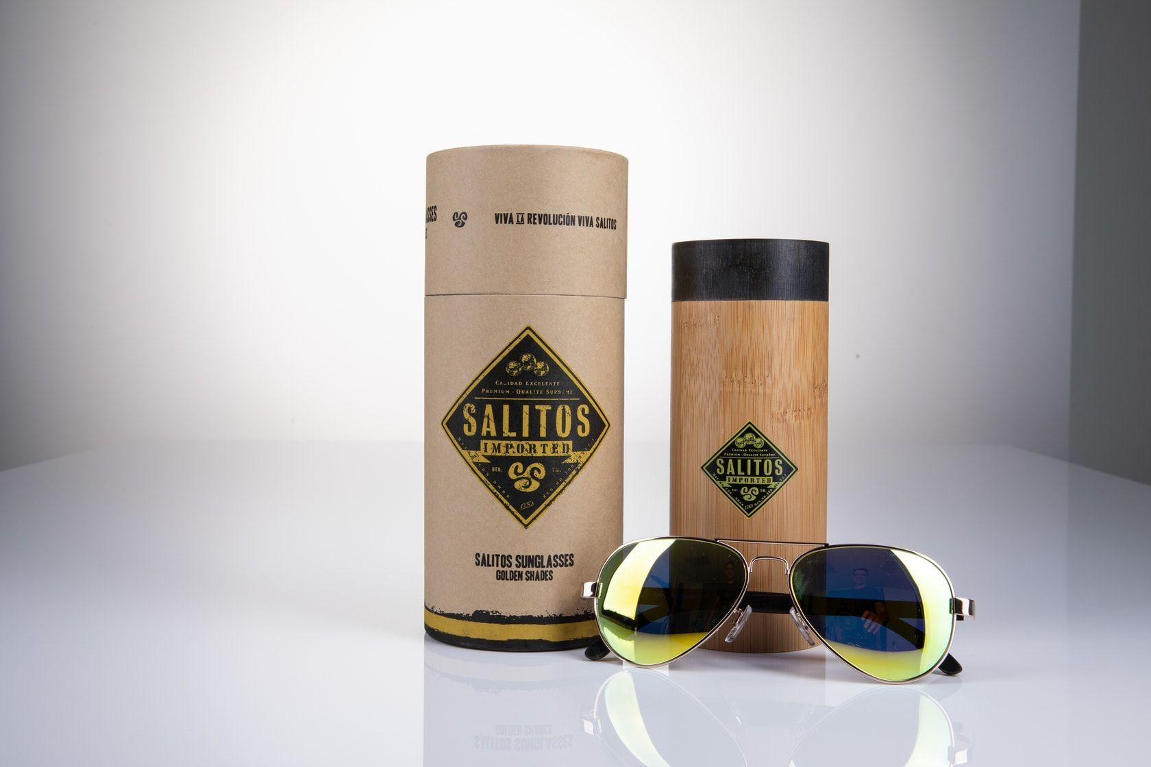 SALITOS Sonnenbrille golden shades
