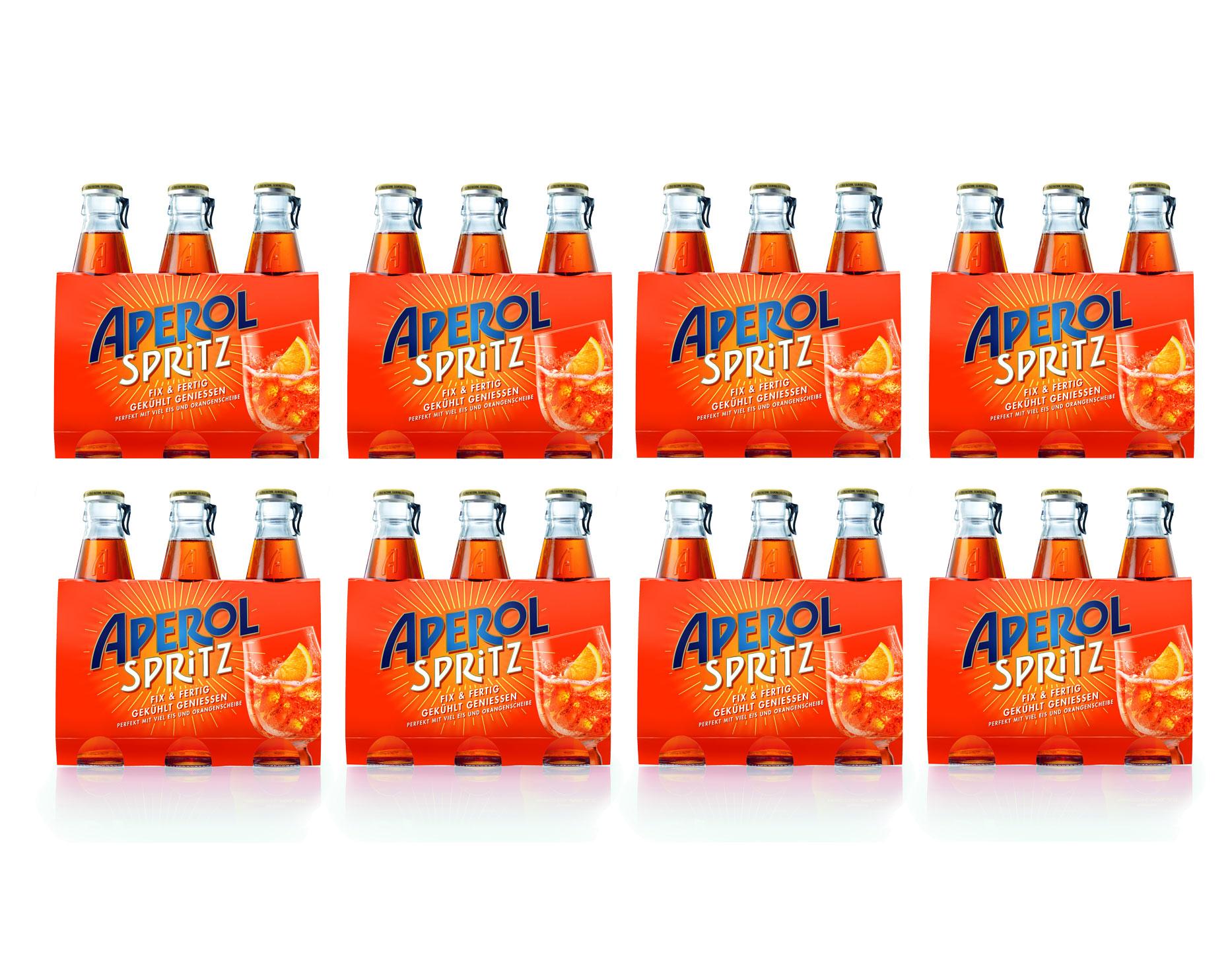 Aperol Spritz 24x 17,5cl (10,5% Vol) ready to drink Aperitivo / Aperitif - [Enthält Sulfite]
