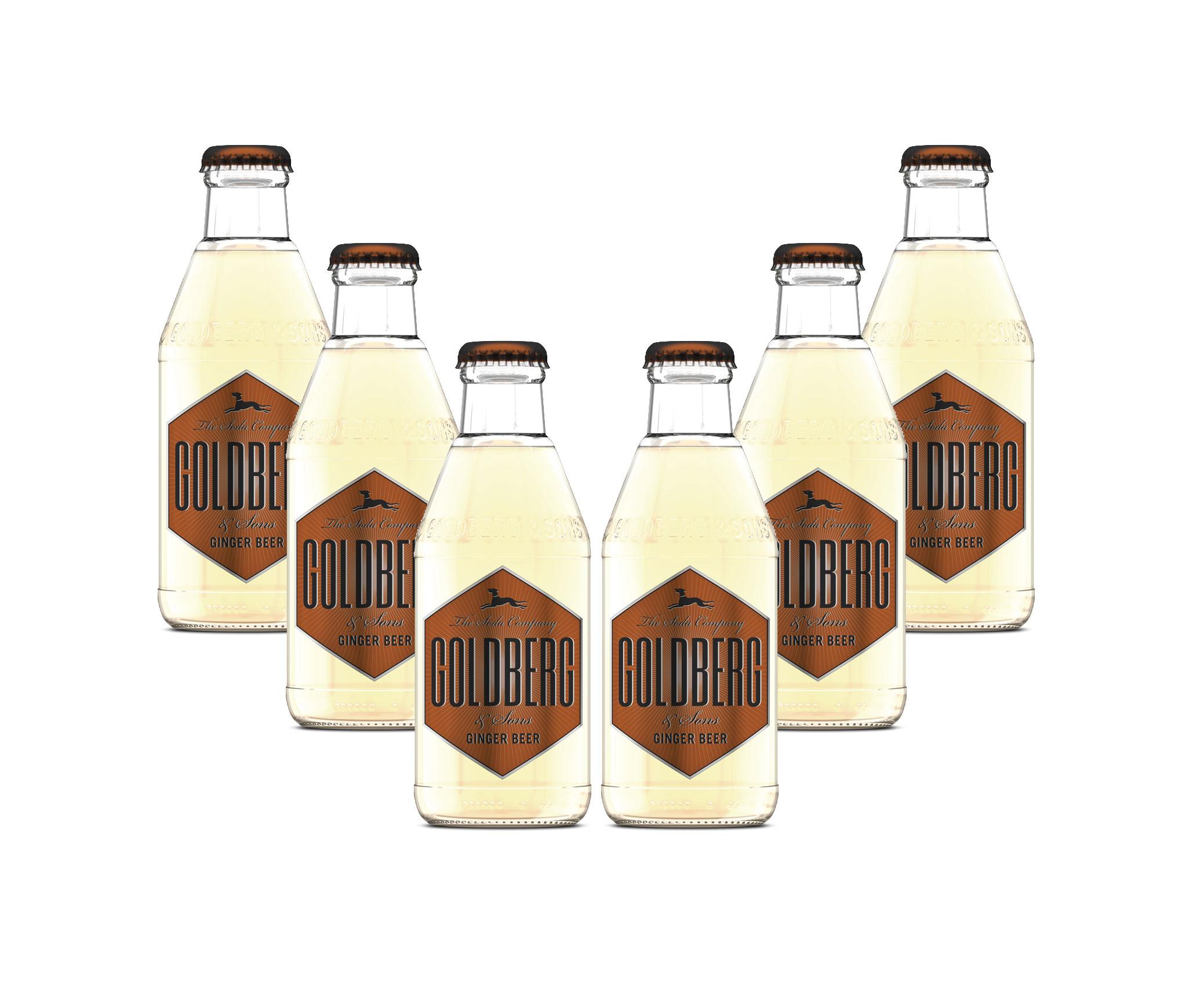Goldberg Ginger Beer 6er Set - 6x200ml inkl. Pfand MEHRWEG