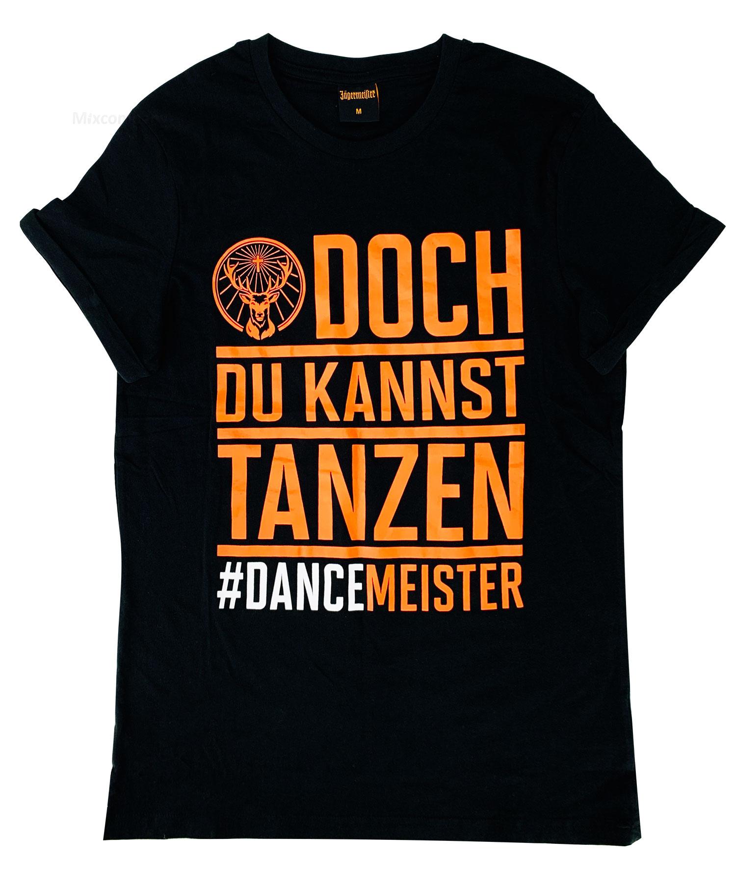 Jägermeister Herren Men T-Shirt schwarz - Größe S (Material Baumwolle)