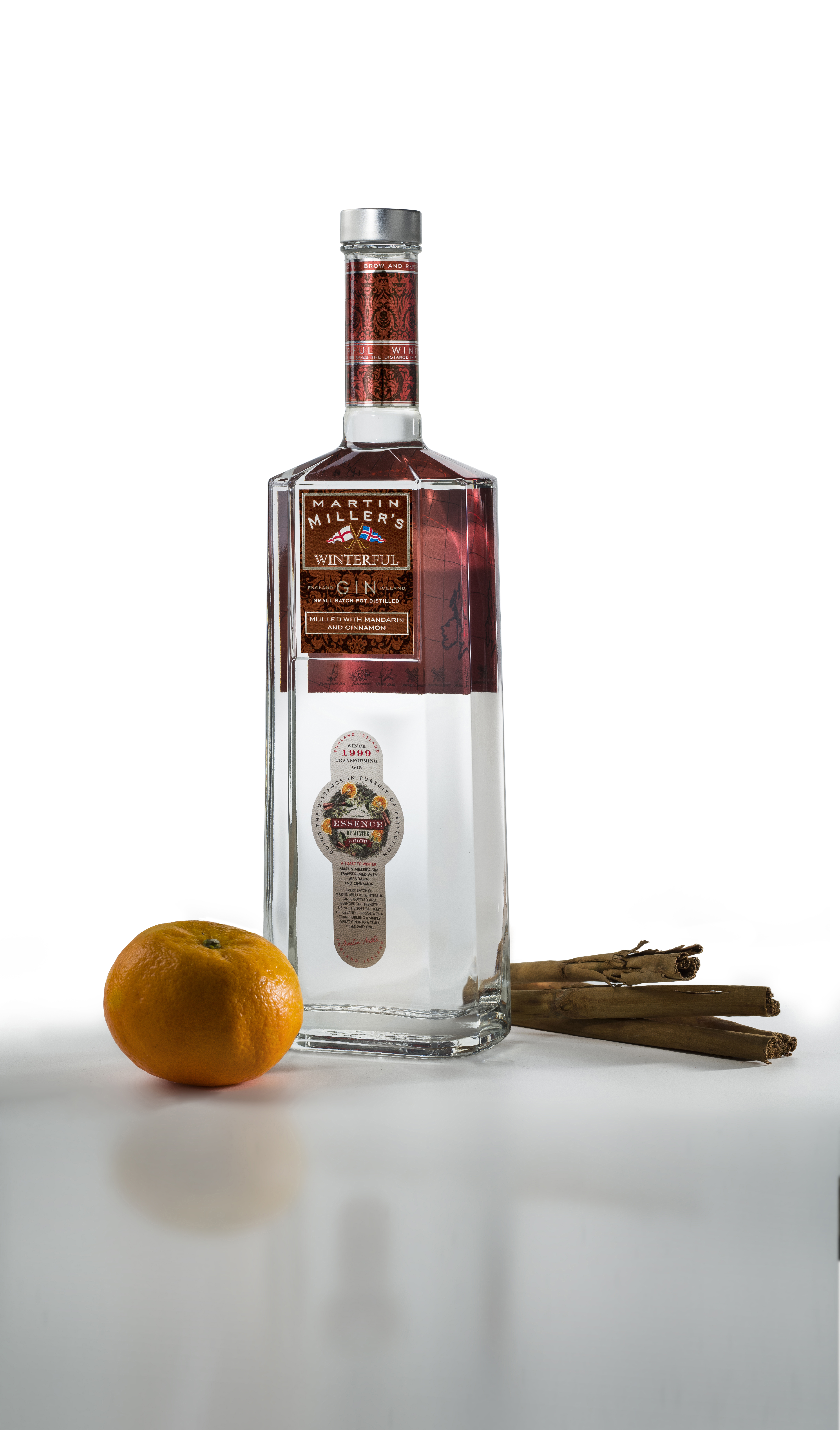 Martin Miller Winterful Gin 0.7L (40% Vol) England Iceland Gin special Edition- [Enthält Sulfite]