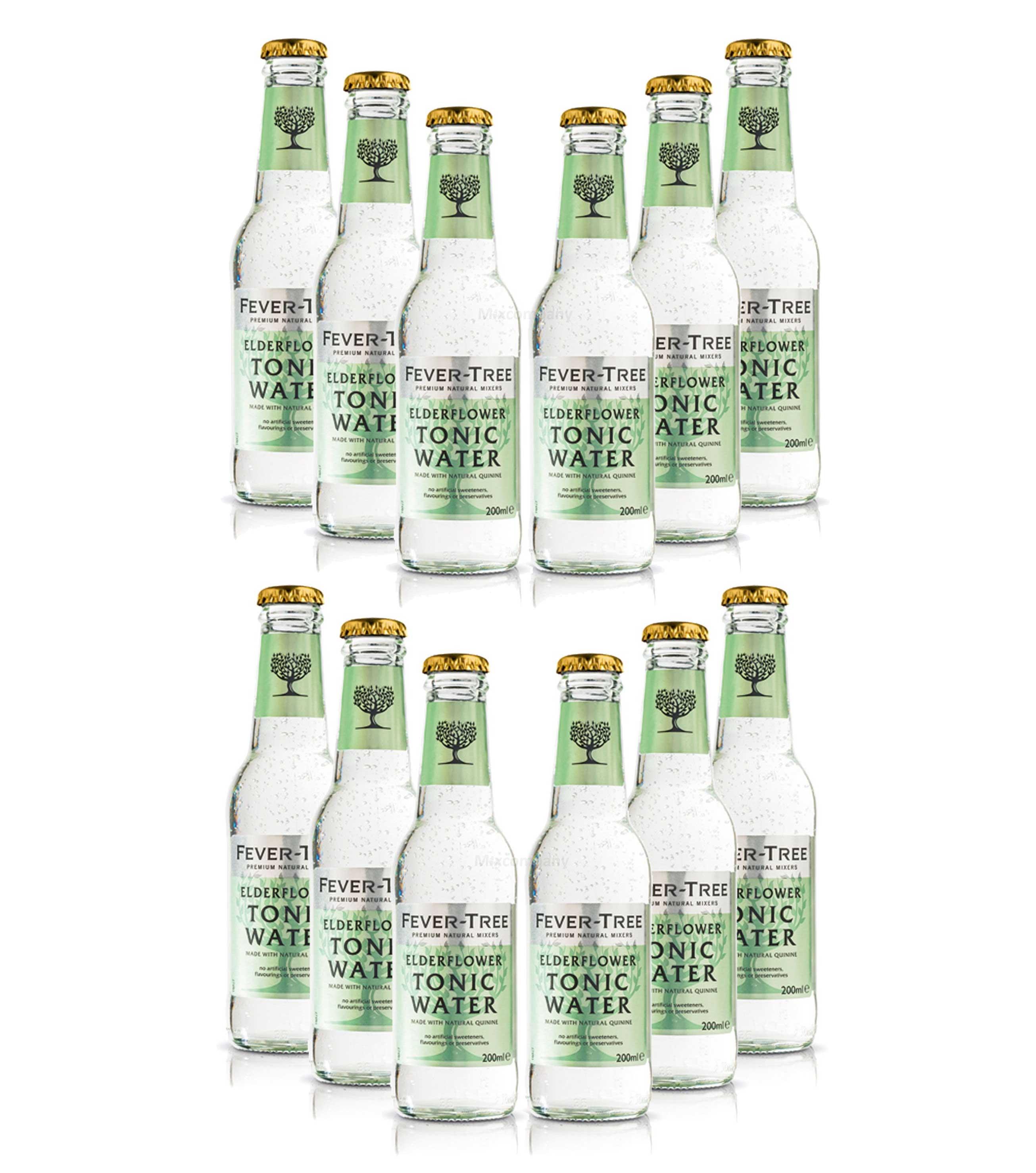 Fever Tree Elderflower Tonic Water Set - 12x 200ml inkl. Pfand MEHRWEG