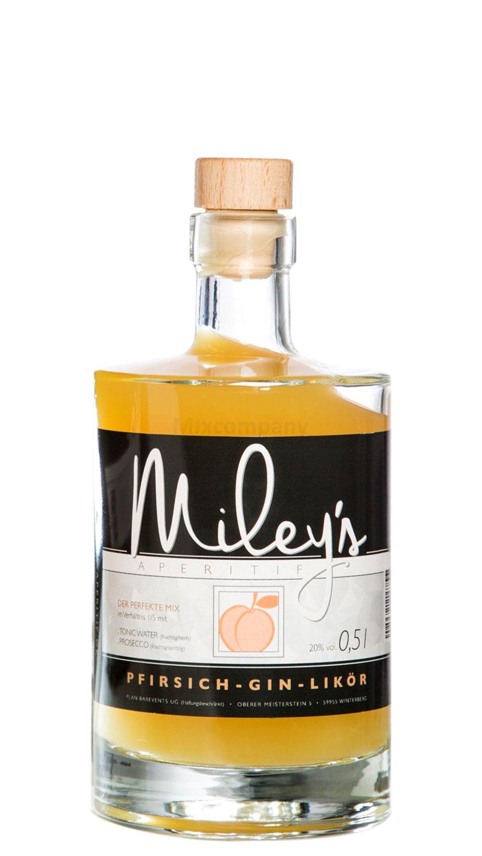 Mileys Pfirsich Gin Likör 0,5l (20% Vol)
