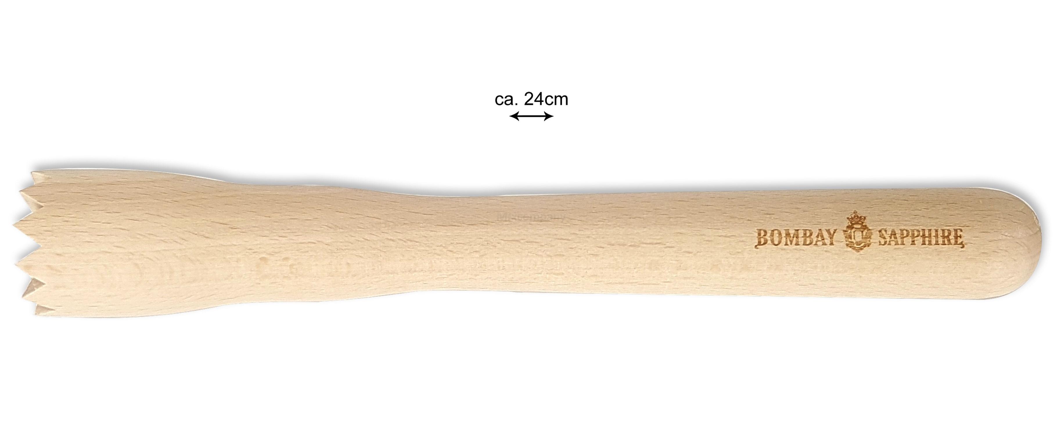 Bombay Sapphire 2x Holzstößel Stößel für Caipirinha