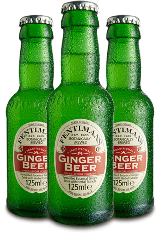 Fentimans Set - 3x Ginger Beer 200ml (Inkl. Pfand) = 600ml - Inkl. Pfand MEHRWEG