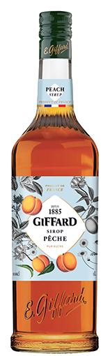 Giffard Pfirsich Sirup 1L