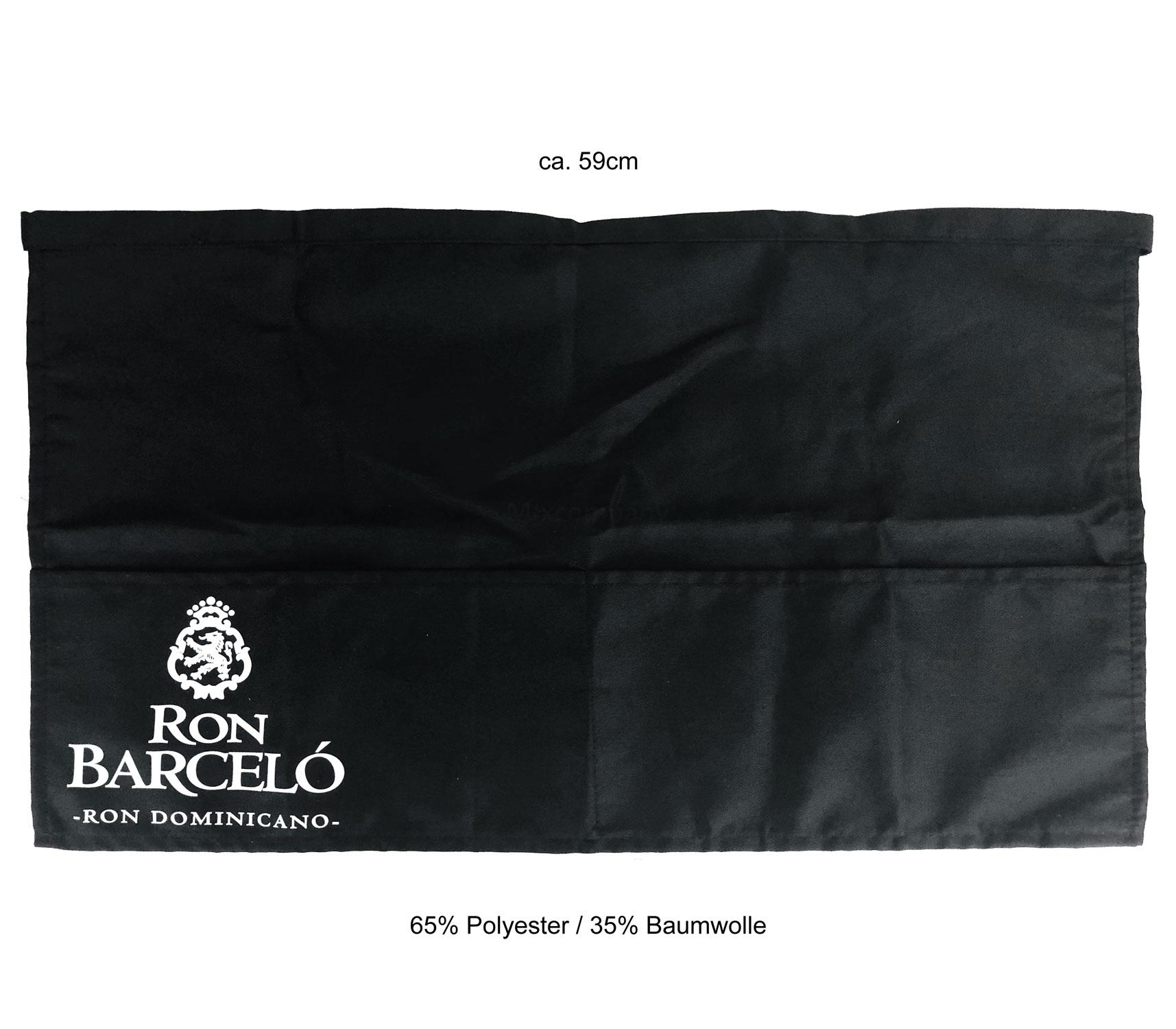 Ron Barcelo Kellner Schürze Bistroschürze Vorbinder Küchenschürze Kellnerschürze Bistro Gastro - ca. 59cm