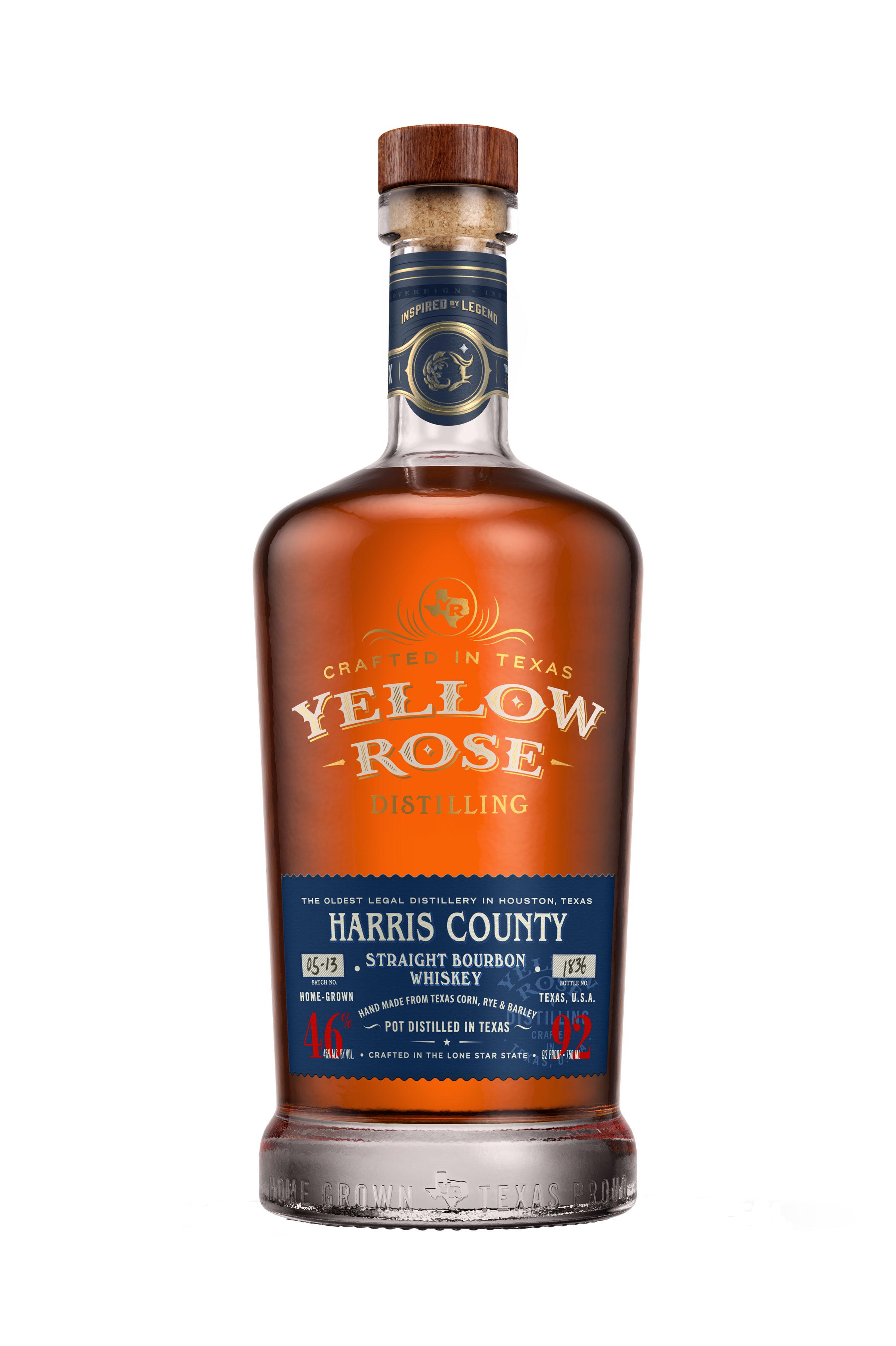 Yellow Rose Harris County Straight Bourbon Whisky 0,7L (46% Vol) - [Enthält Sulfite]