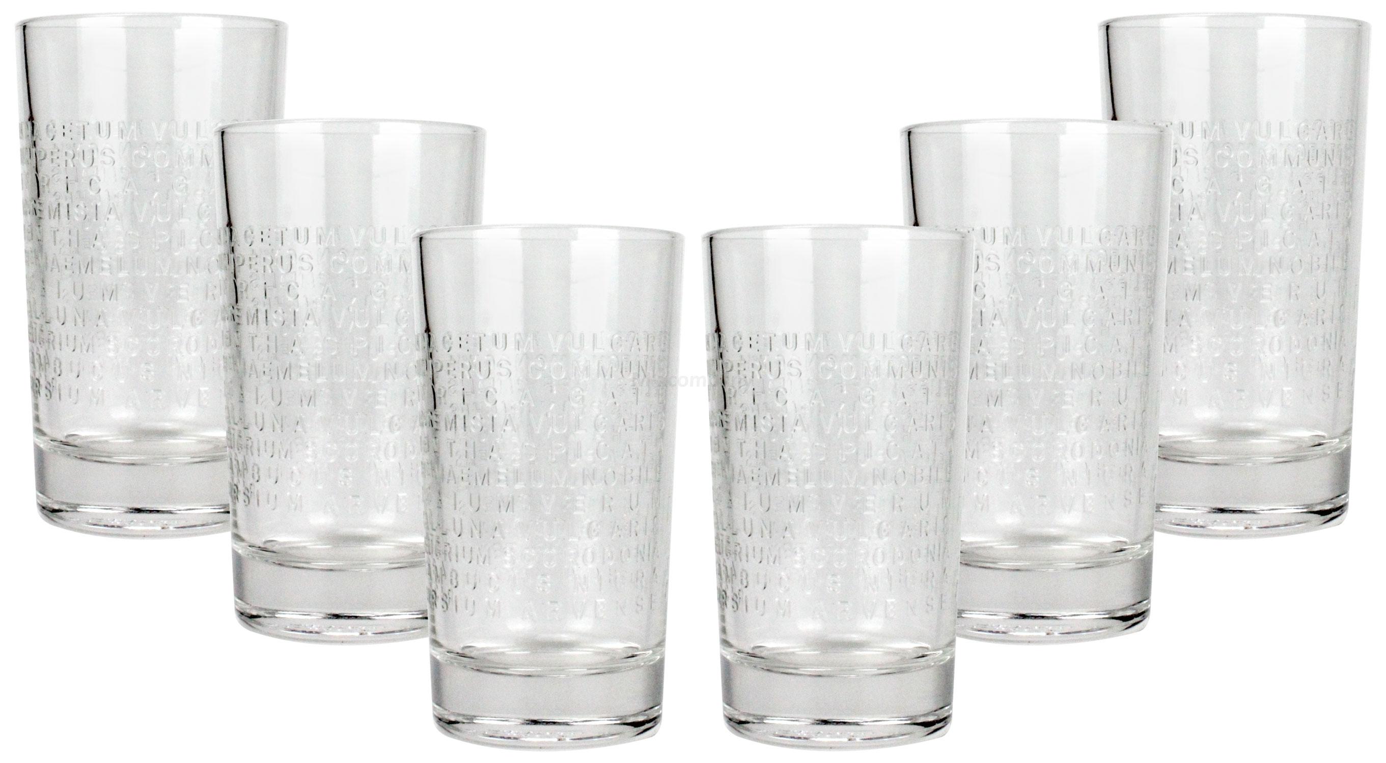 The Botanist Glas Gläser Set - 6x Longdrinkgläser