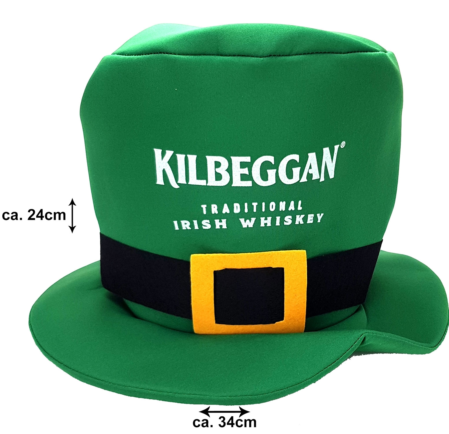 Kilbeggan Kobold Hut für Karneval / Halloween / St. Patricks Day Material : 100% Polyester
