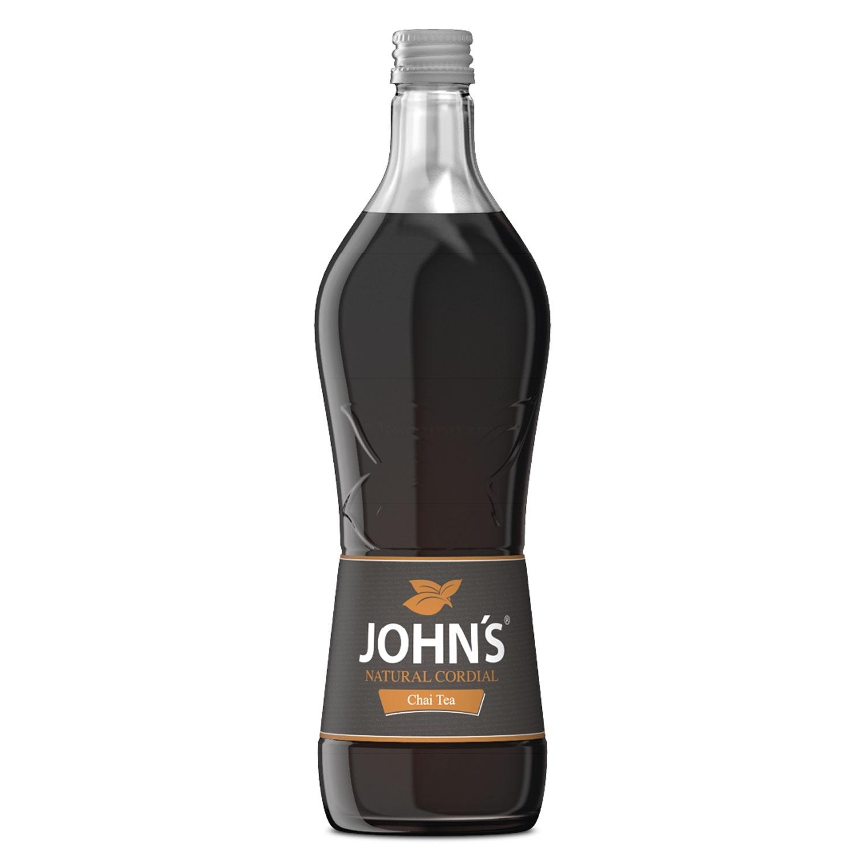 Johns Chai Tea Sirup für Cocktails 0,7l